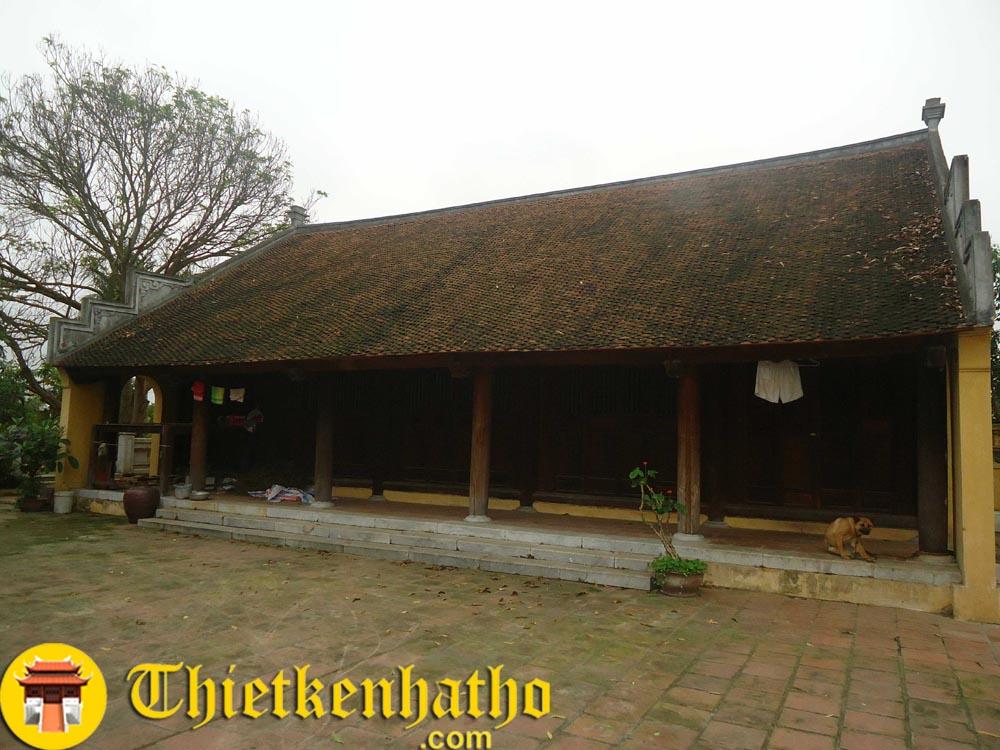 Nhà đại vũ đền thờ Phạm Từ
