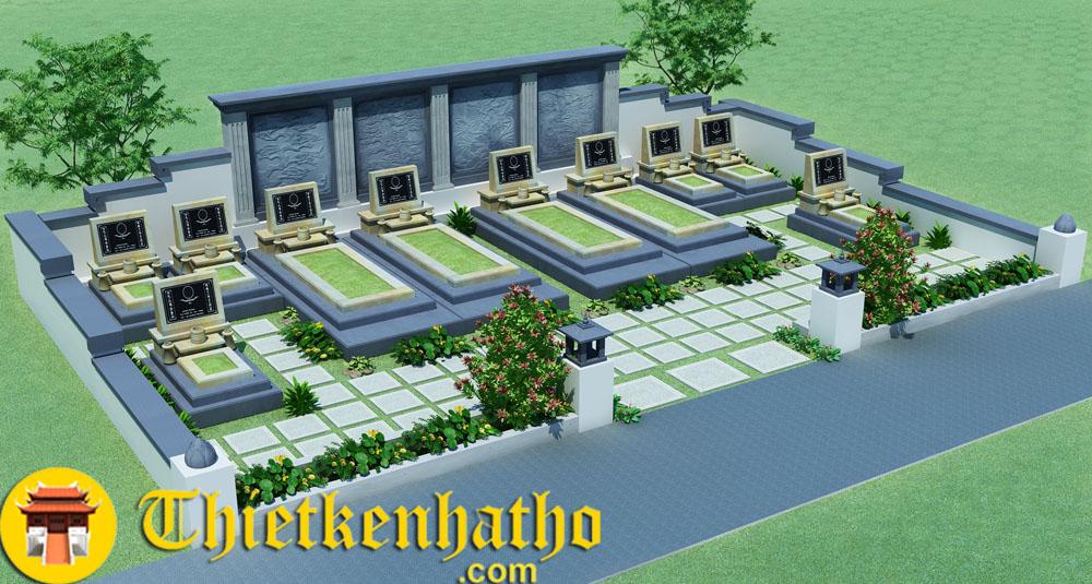 Chuyên thiết kế lăng mộ, công viên vĩnh hằng