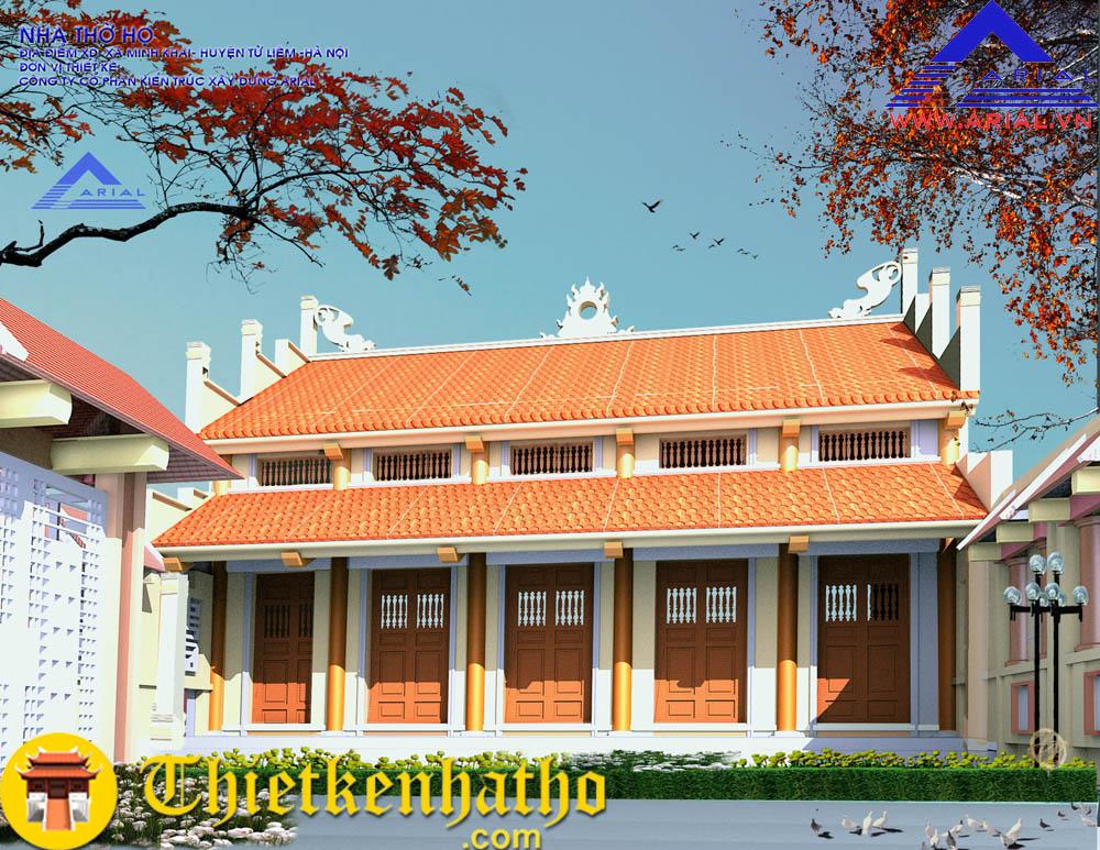 Nhà thờ họ ở Minh Khai - Từ Liêm - Hà Nội