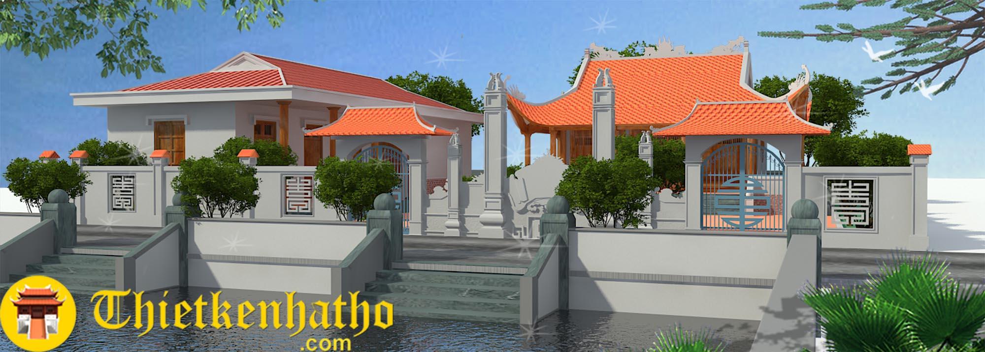 1. Nhà thờ chú Tiến - Thanh Hóa