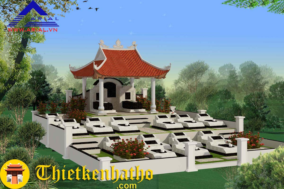 Các mẫu thiết kế lăng mộ