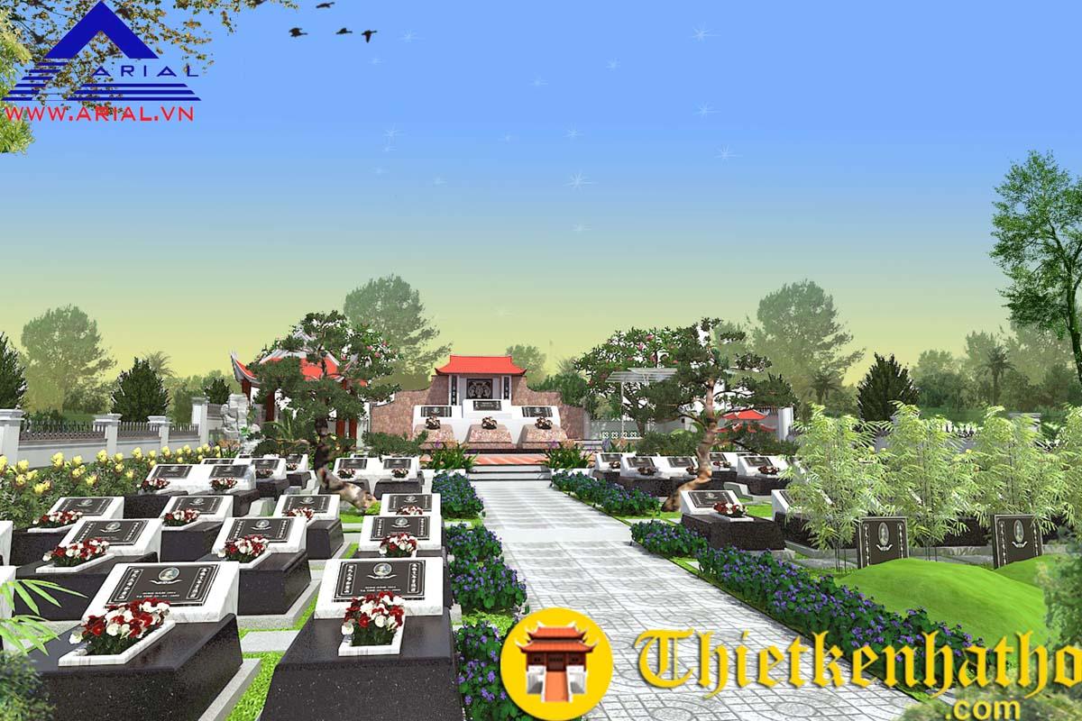 Khu mộ dòng họ Đỗ cđt chú Minh - Ba Vì - Hà Nội
