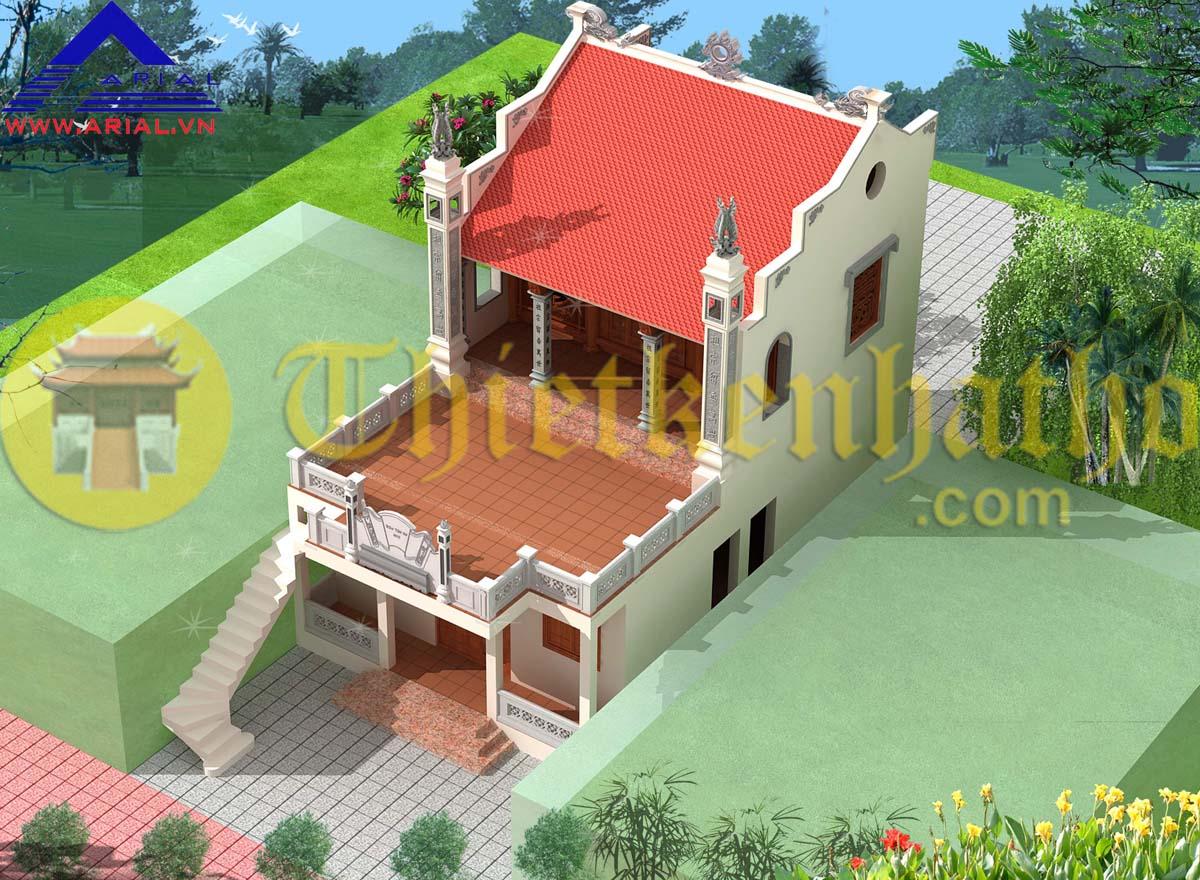 Nhà thờ cđt chú Lâm - Khu 6 TT Ninh Giang - Huyện Ninh Giang - Hải Dương