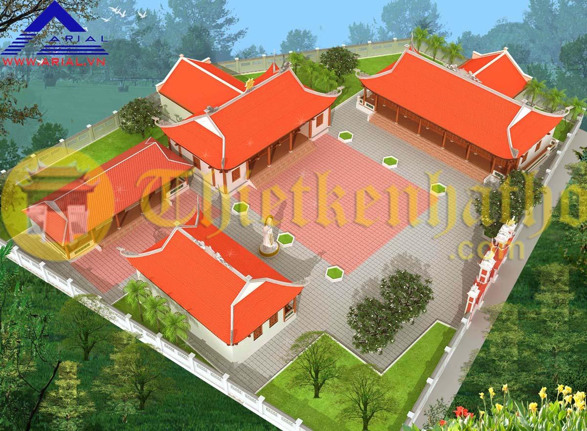 Đình chùa xã Hùng Sơn - Hiệp Hòa - Bắc Giang