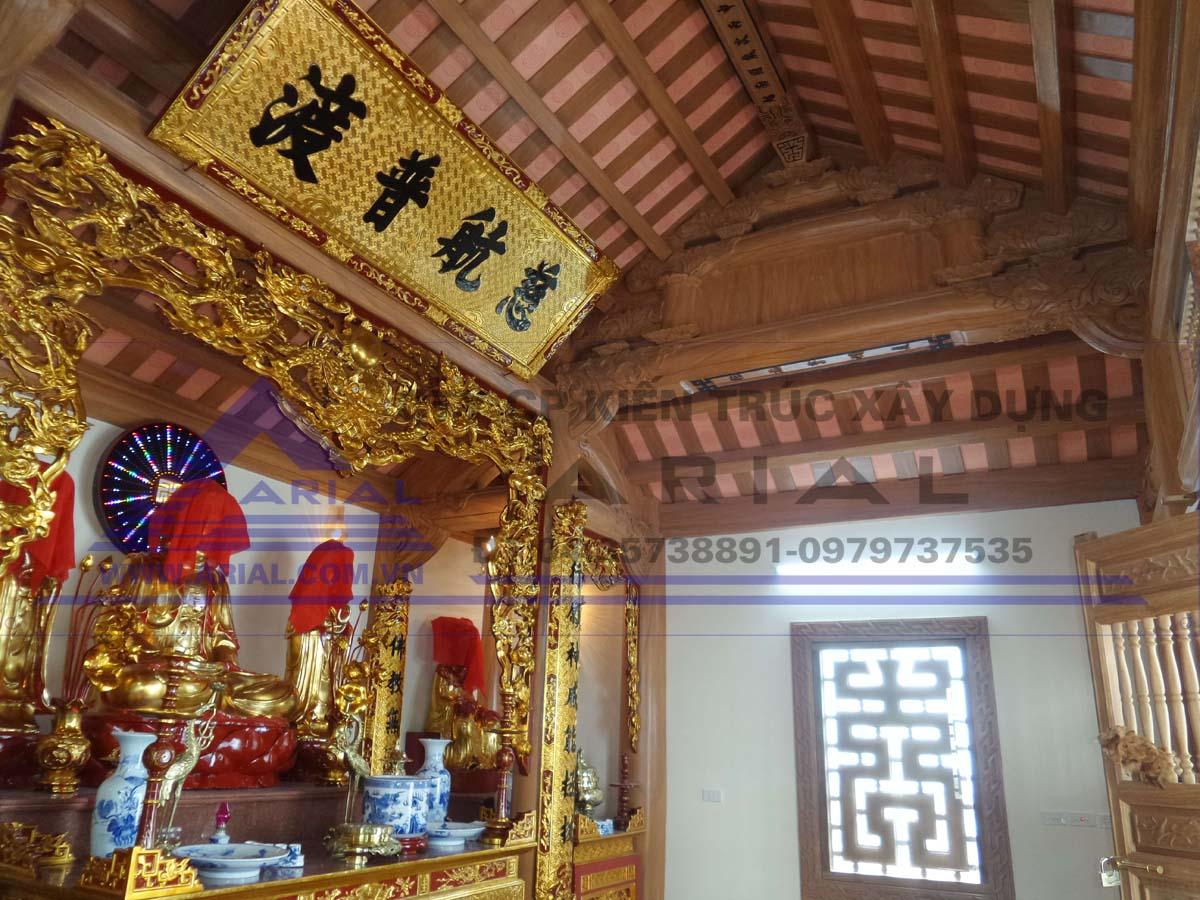 3. Nội thất đồ thờ KGTL Hoàng Mai Hà Nội