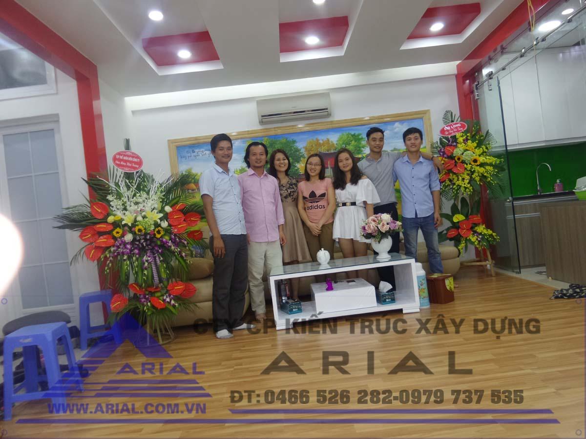 Công ty ARIAL khai trương văn phòng mới tại P604 Tòa nhà 89 Phùng Hưng - Hà Đông - HN