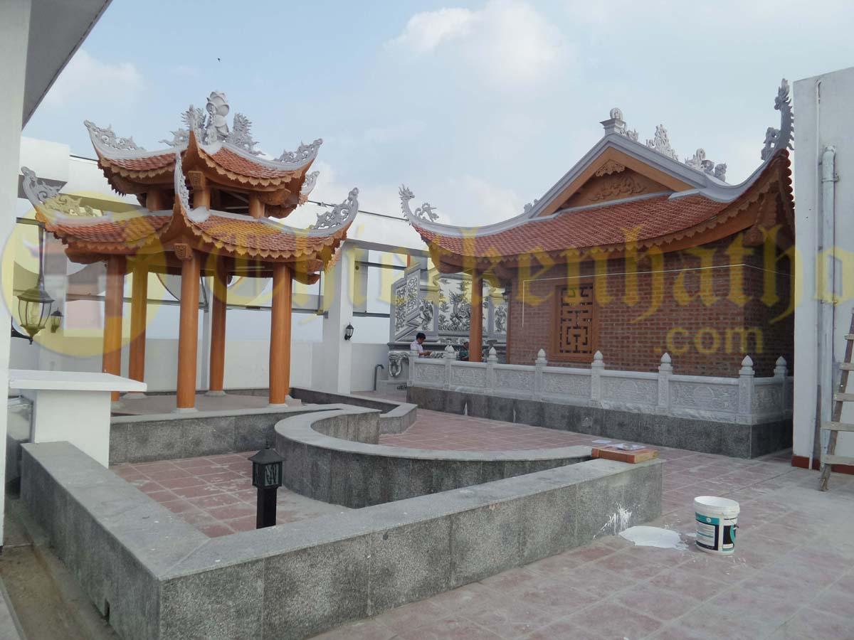 Không gian tâm linh ở Hoàng Mai - Hà Nội