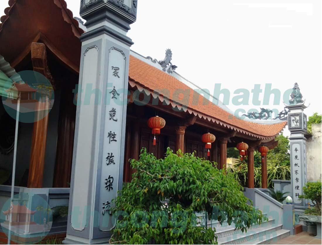Nhà thờ cđt chú Tiến ở Thọ Xuân - Thanh Hóa