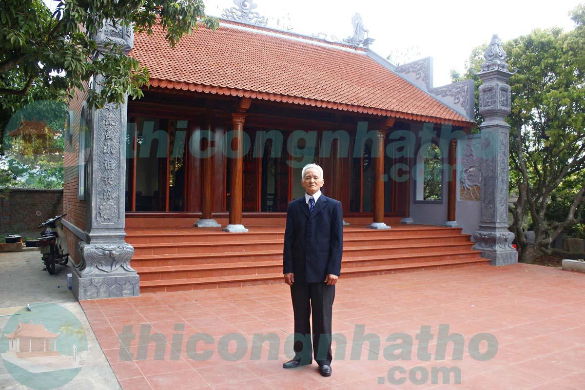 6. Nhà thờ 2 mái cđt a Hùng ở Kinh Môn - Hải Dương