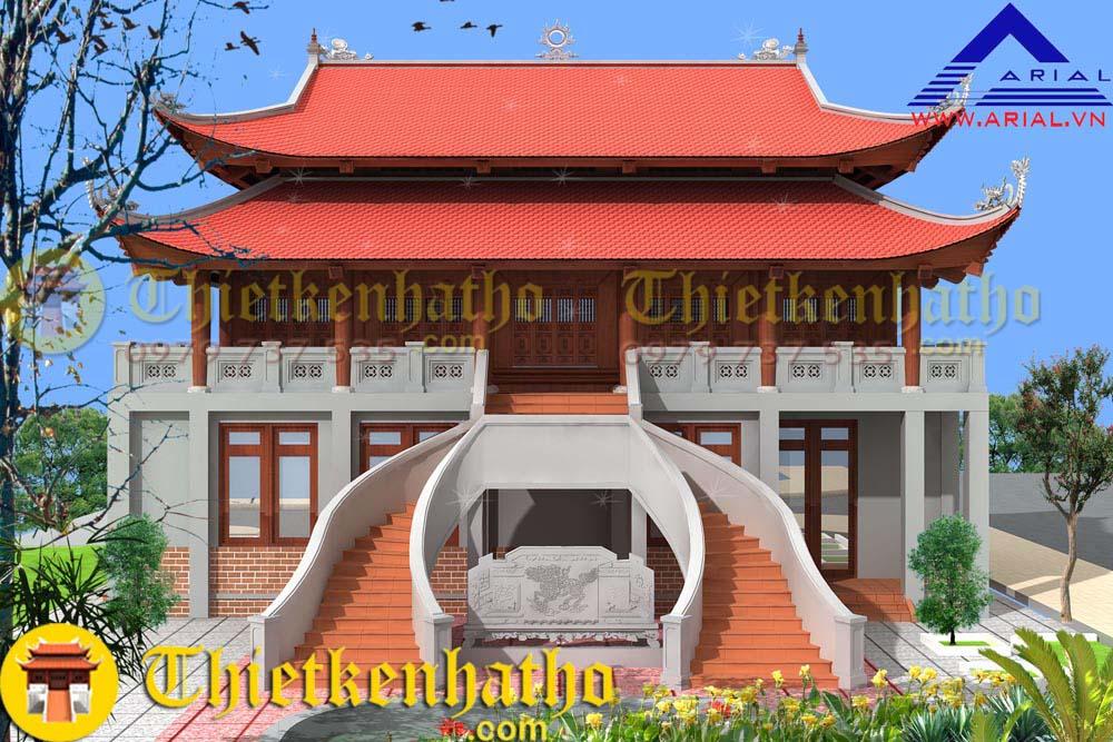 Nhà thờ anh Trọng - Hà Tây