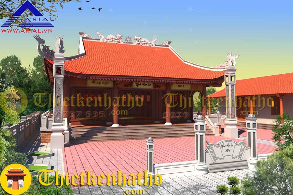 Nhà thờ anh Sang - Kinh Môn Hải Dương