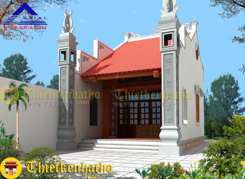 Nhà thờ anh Thìn - Thái Thụy Thái Bình