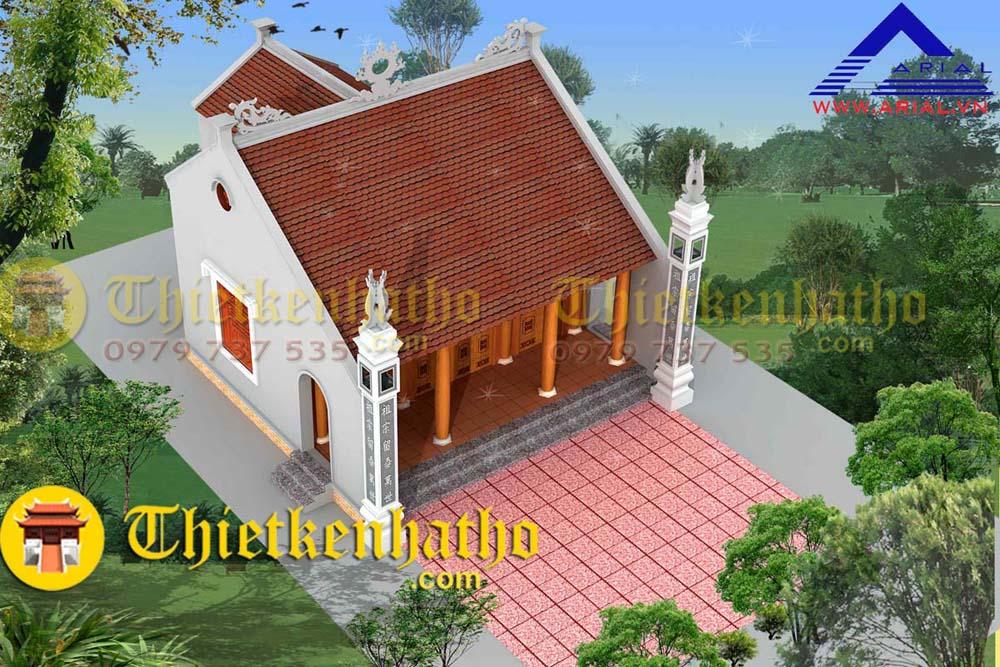Nhà thờ cđt chú Doanh - Ninh Bình PA1