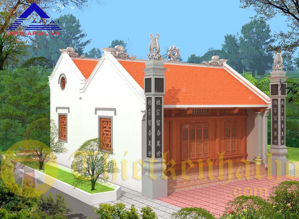 Nhà thờ họ Nguyễn Hữu cđt chú Đoàn - Thượng Hiền - Kiến Xương - Thái Bình