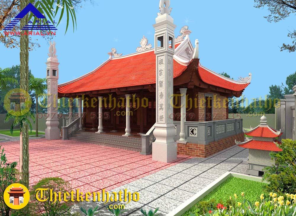 Nhà thờ anh Tuấn - Hiệp Hòa Bắc Giang