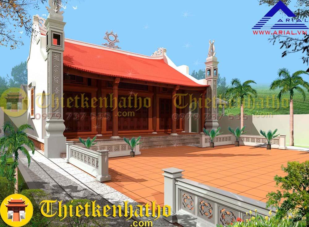Nhà thờ anh Nam - Ứng Hòa Hà Nội