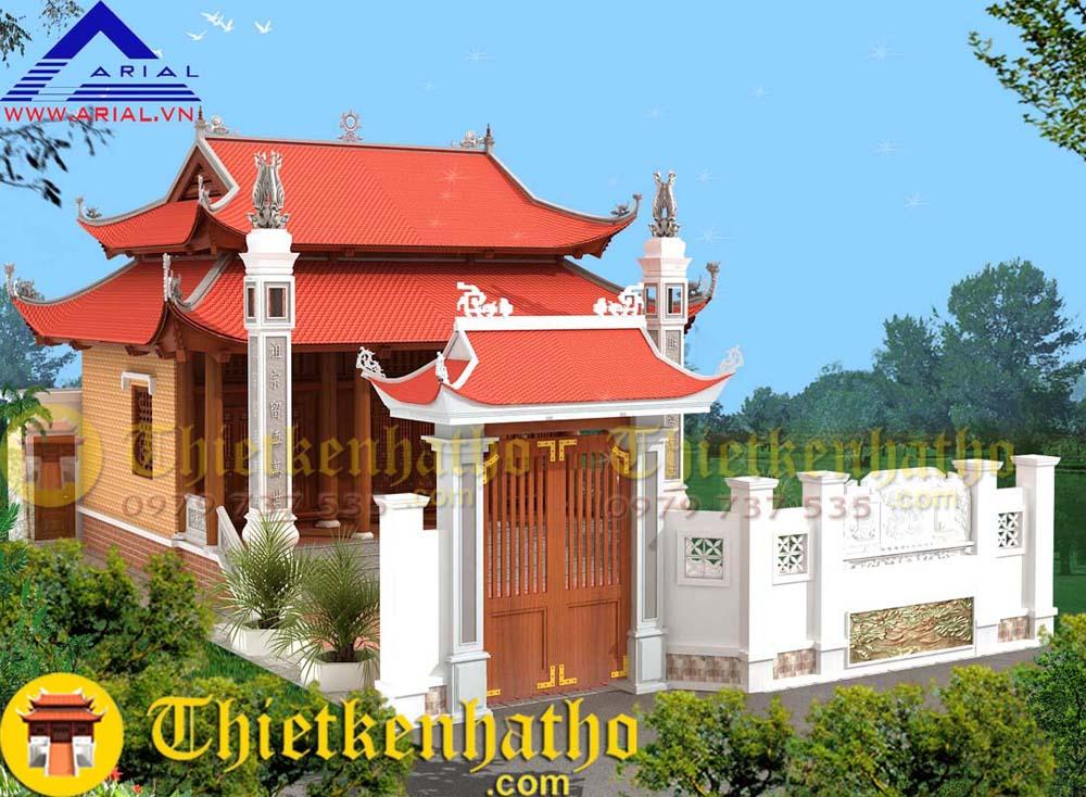 3. Nhà thờ cđt anh Quang - Hải Yến - Tĩnh Gia - Thanh Hóa