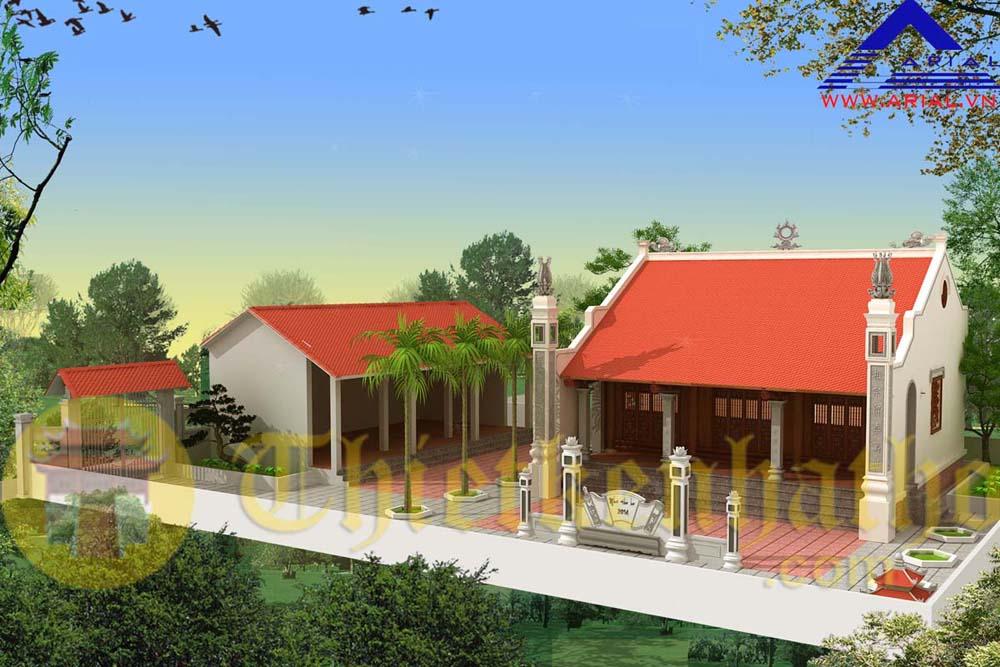Nhà thờ cđt chị Hà - Quỳnh Sơn - Bắc Sơn - Lạng Sơn