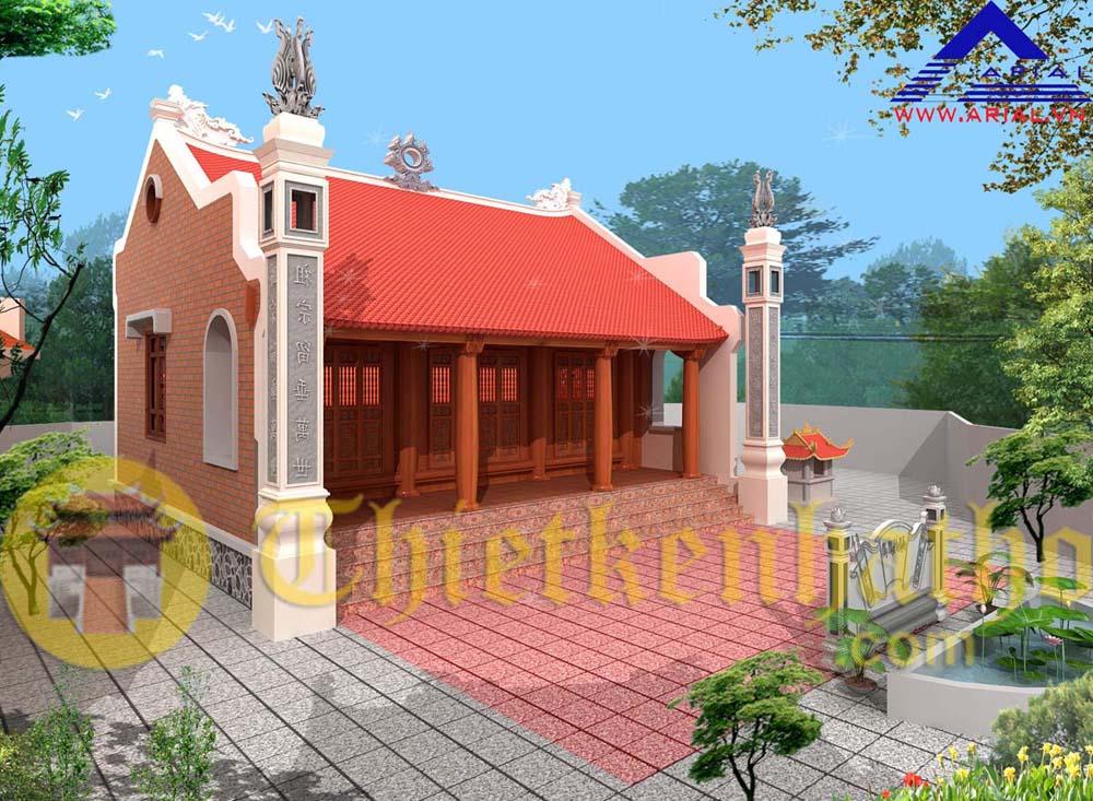 Nhà thờ cđt anh Huy - An Hà - Lạng Giang - Bắc Giang