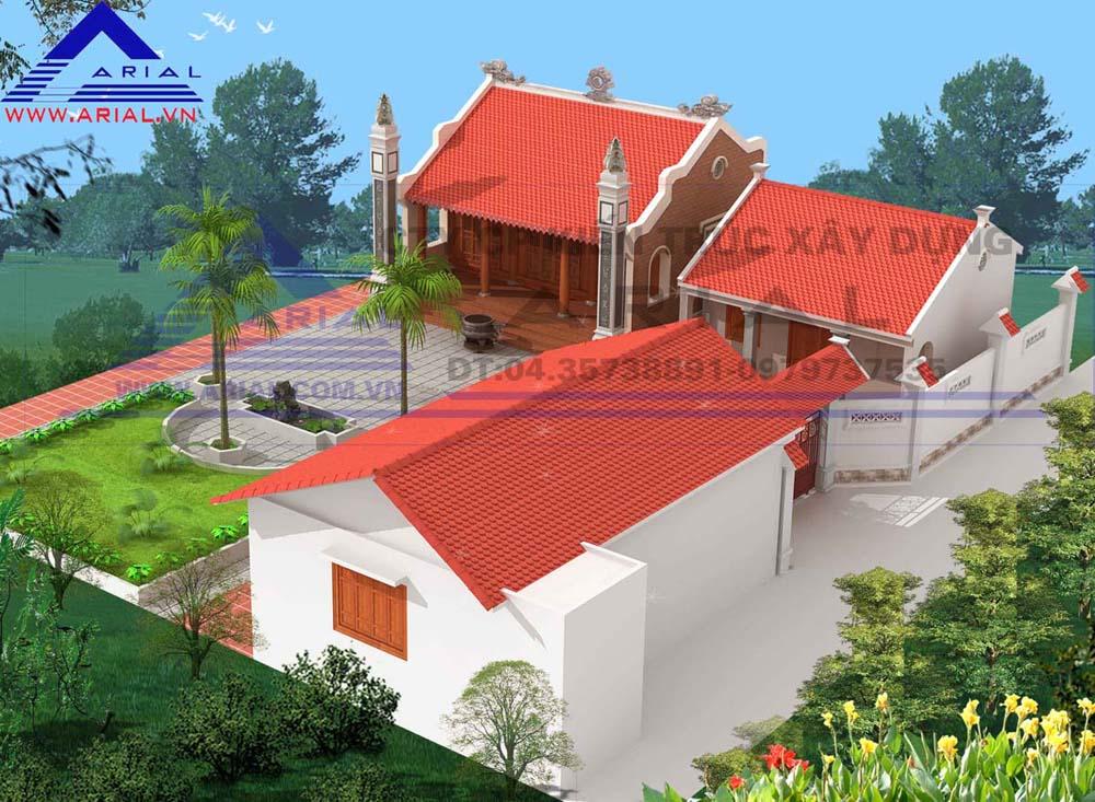 Nhà từ đường cđt anh Hiền - Chuyên Ngoại - Duy Tiên - Hà Nam