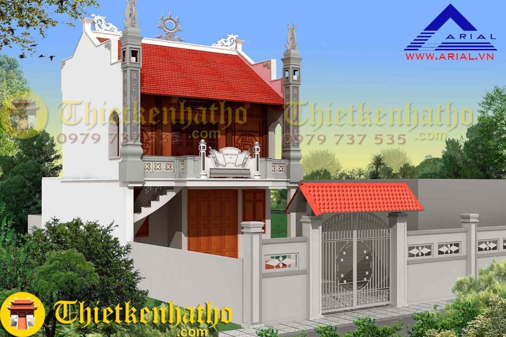 Nhà thờ anh Tiến - Giáp Nhị Hà Nội