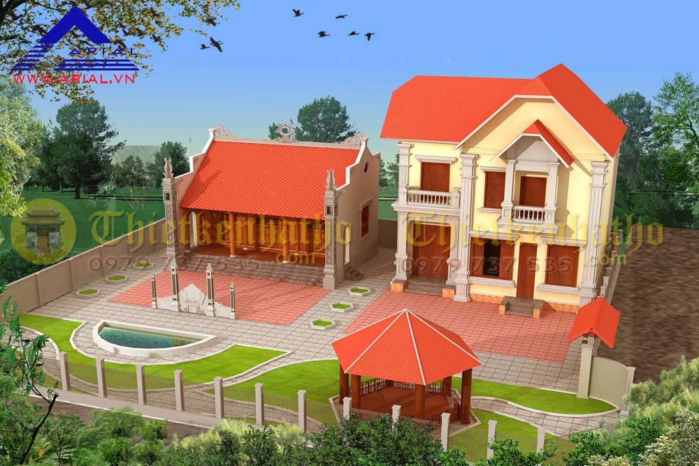 Nhà thờ chú Chăm - Tiên Du Bắc Ninh