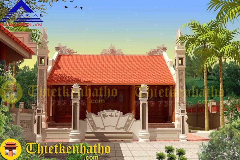 Nhà thờ chú Cường - Phú Thọ