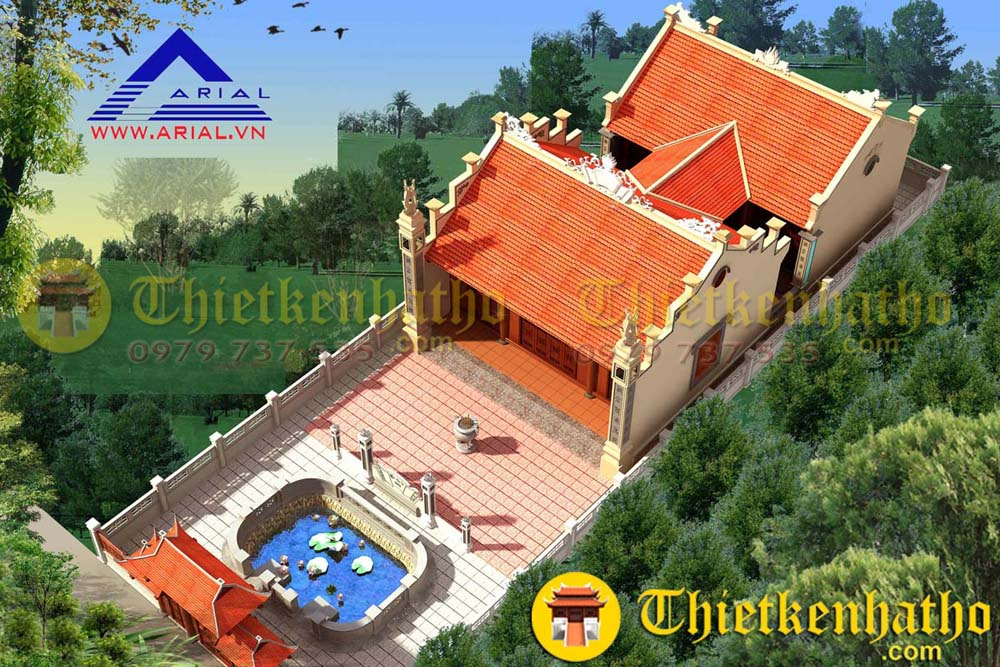 2. Nhà thờ anh Tuyển - Thái Bình