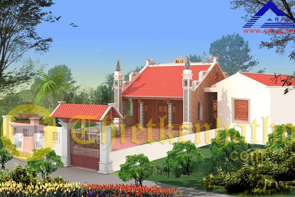 4. Nhà thờ cđt a Hiệp - An Nội - Bình Lục - Hà Nam