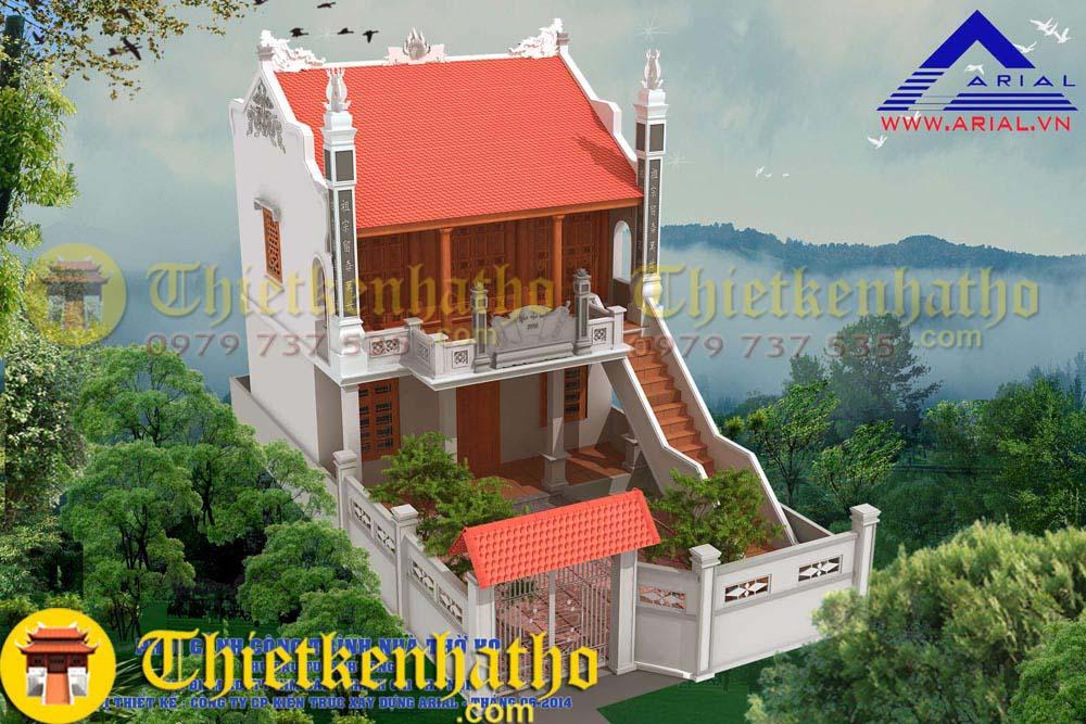 Nhà thờ anh Long - Thanh Oai Hà Nội