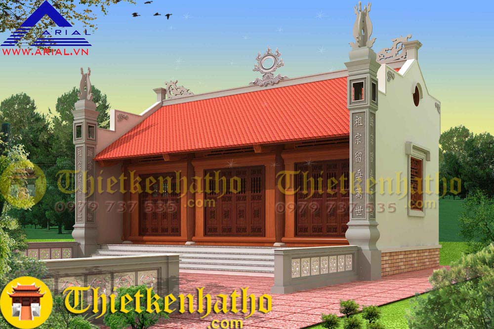 2. Nhà thờ anh Tân - Việt Trì Phú Thọ