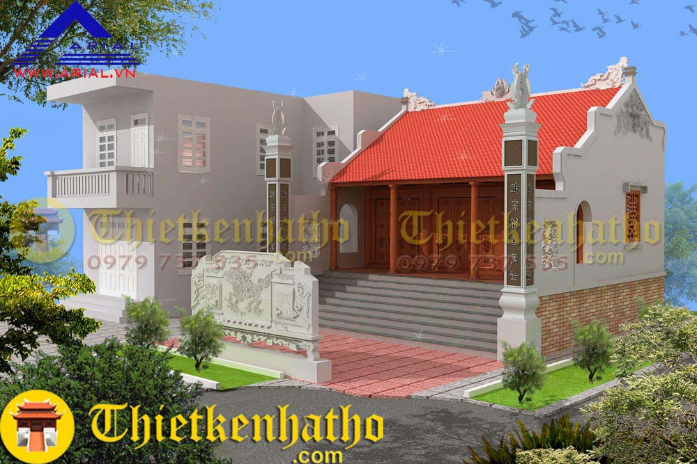 2. Nhà thờ anh chú Dong - Thái Bình