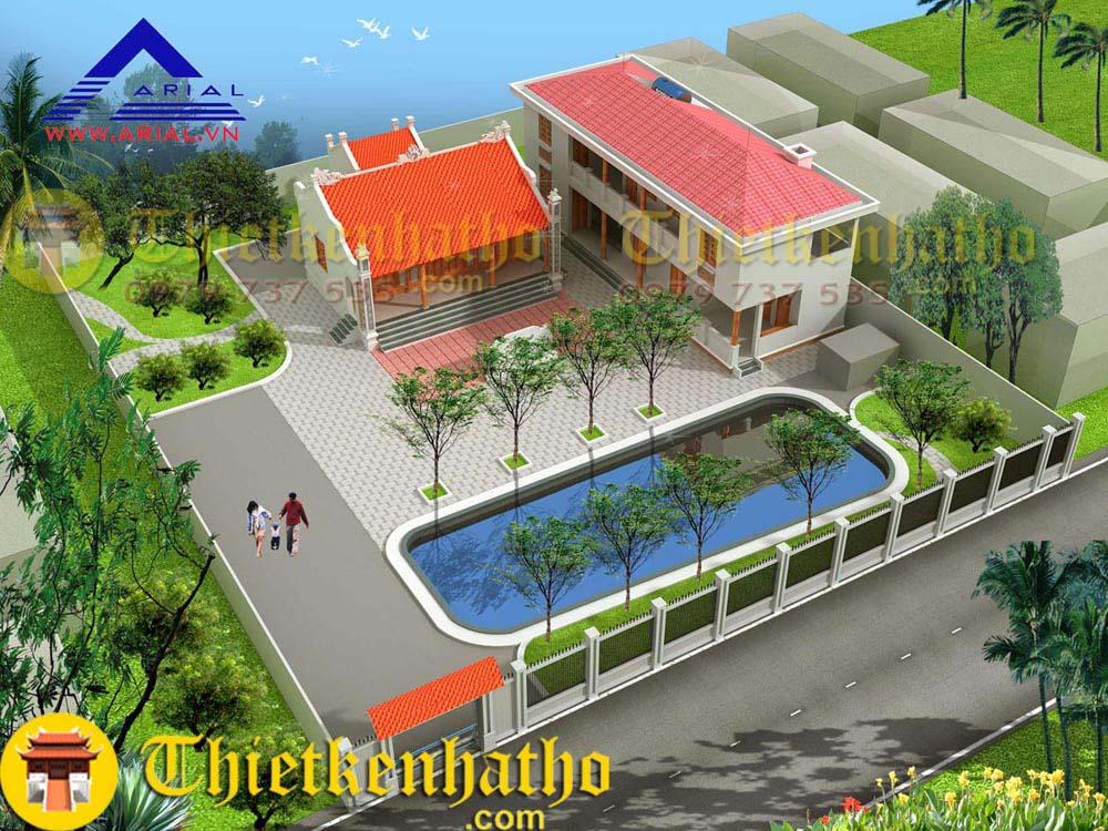 1. Nhà thờ anh chú Thặng - Nam Định