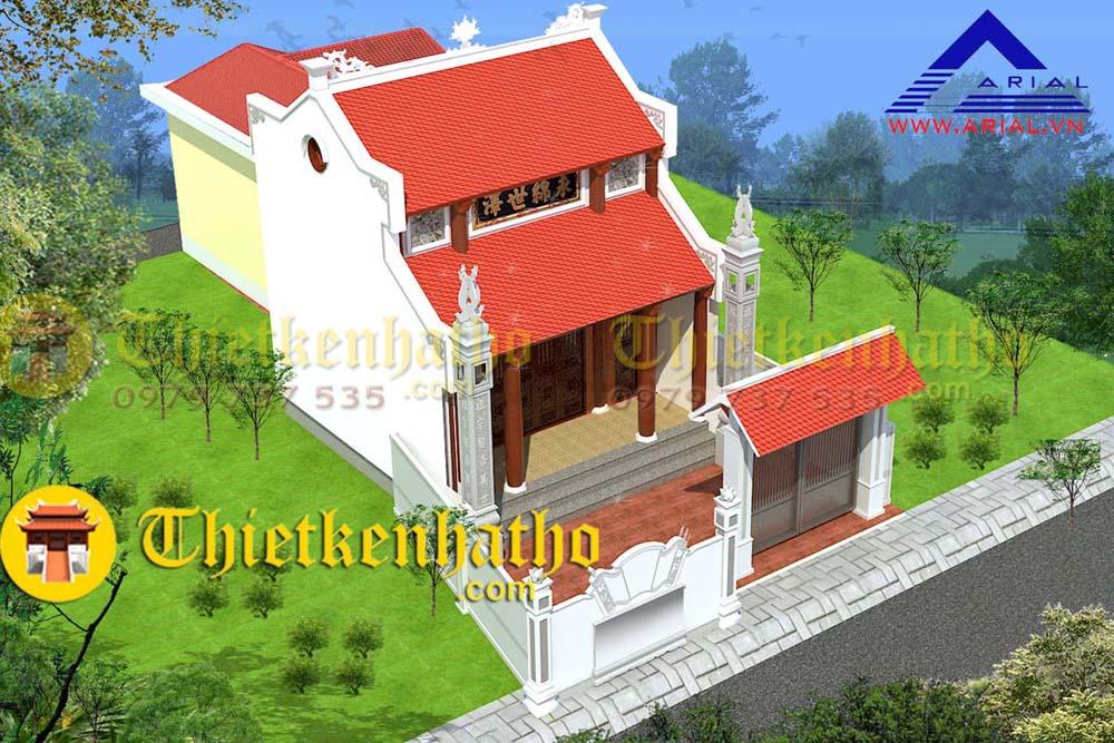 Nhà thờ mái kép cđt chị Yến - Thanh Hóa