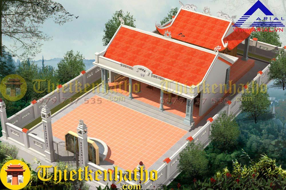 2. Nhà thờ họ Lê - Nghệ An