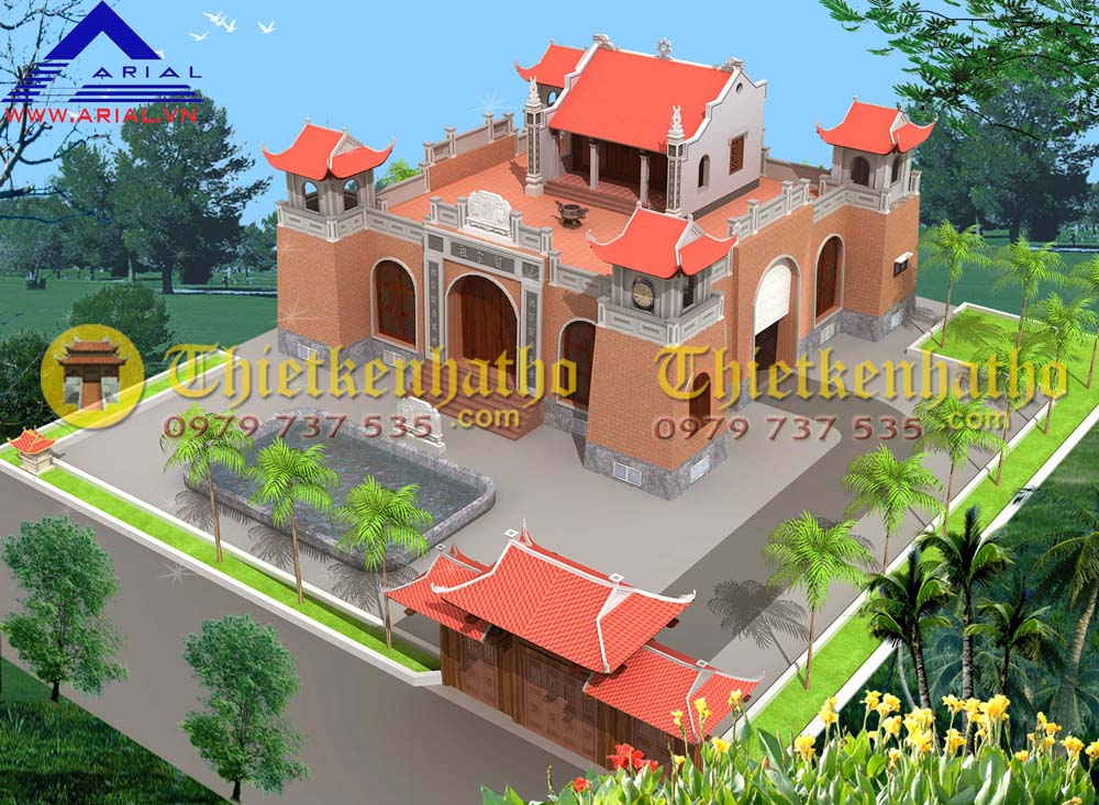 4. Thành Nhà thờ cđt chú Tuấn ở Hưng Yên