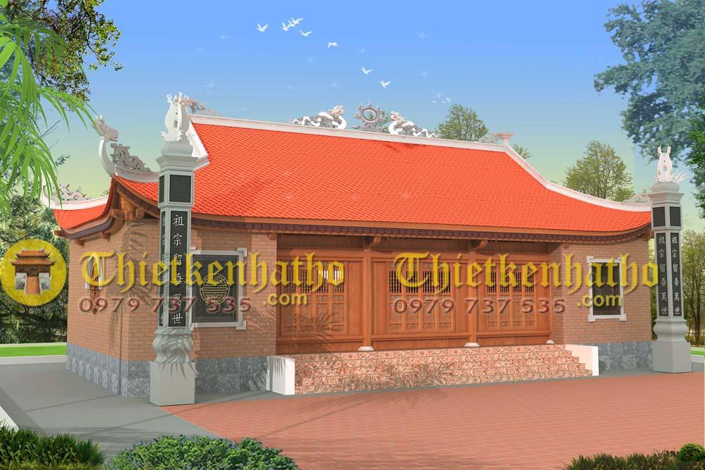 6. Nhà thờ 5 gian ở Việt Yên - Bắc Giang