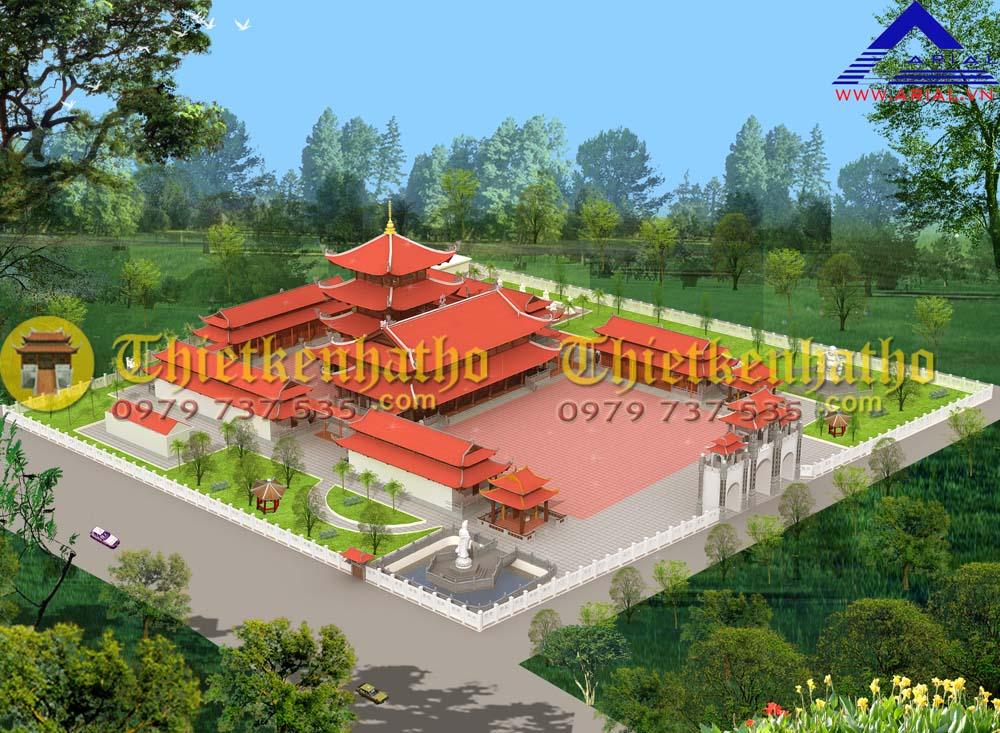 Chùa Viên Thận xã Quảng Minh , Sầm Sơn, Thanh Hóa