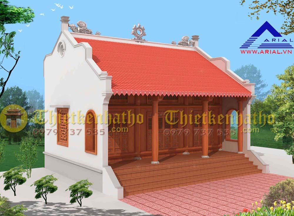 Nhà thờ cđt a Dũng ở Hoằng Đạo - Hoằng Hóa - Thanh Hóa
