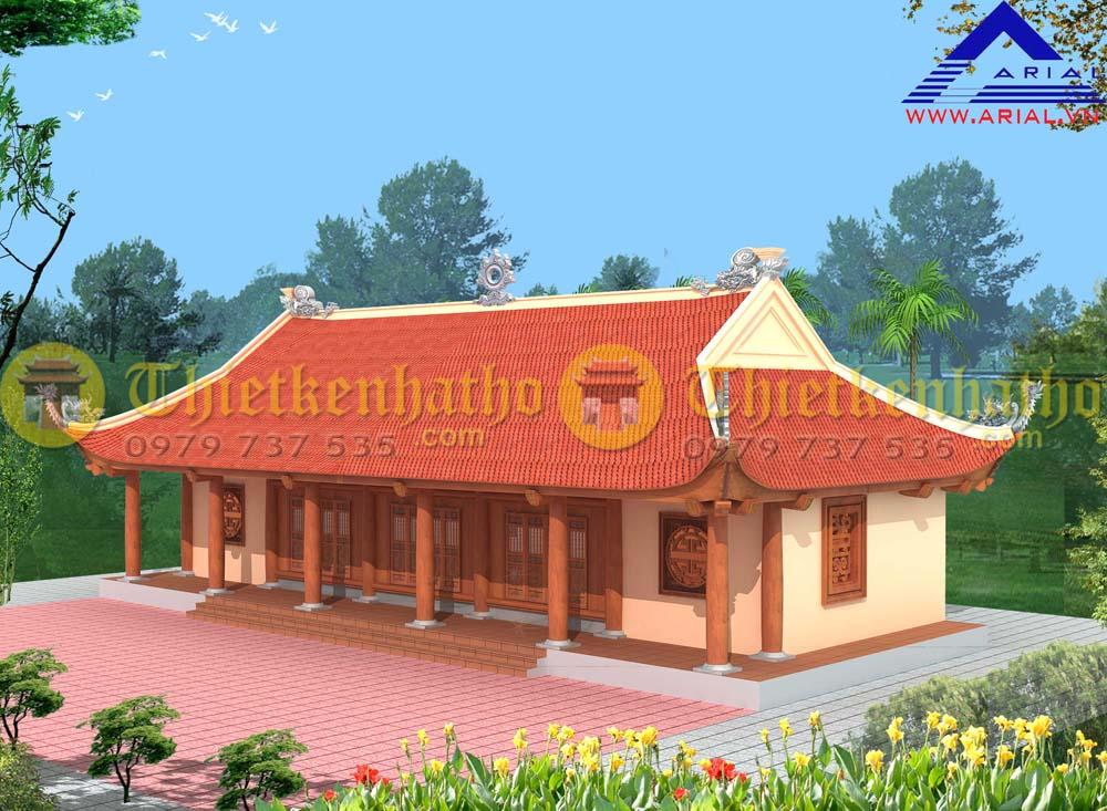 Nhà thờ 5 gian ở Vũ Thư - Thái Bình