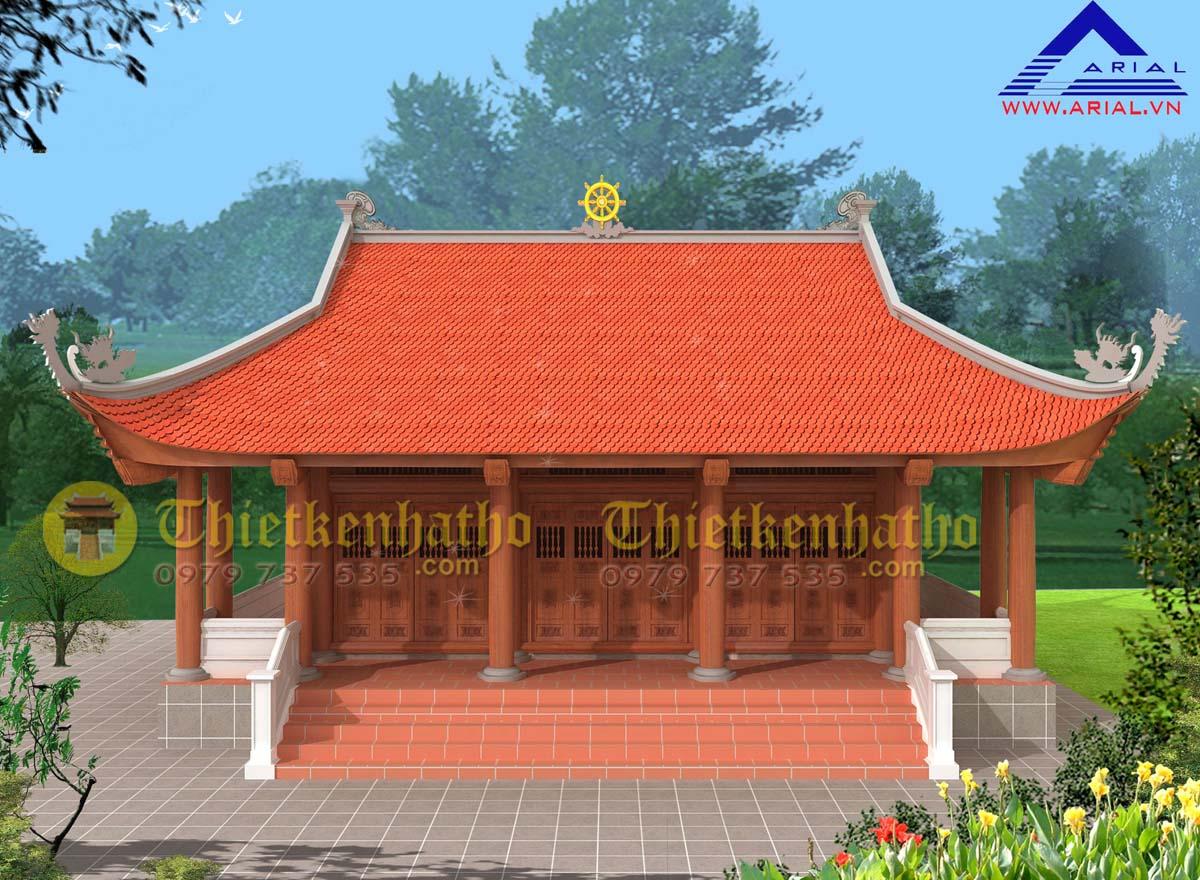 5. Nhà thờ 4 mái 3 hành lang trước và 2 bên ở Đông Lĩnh Tp Thanh Hóa