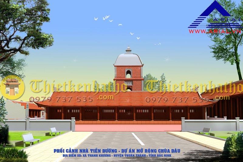 3. Chùa Dâu - Thuận Thành Bắc Ninh