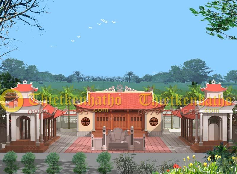 1. Đền thờ Bà Chúa Me - Hải Dương
