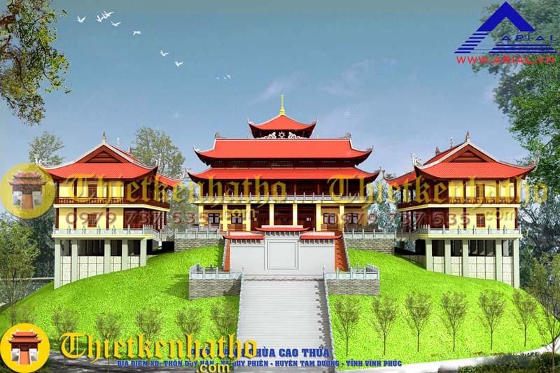Chùa Cao Thứa - Vĩnh Phúc