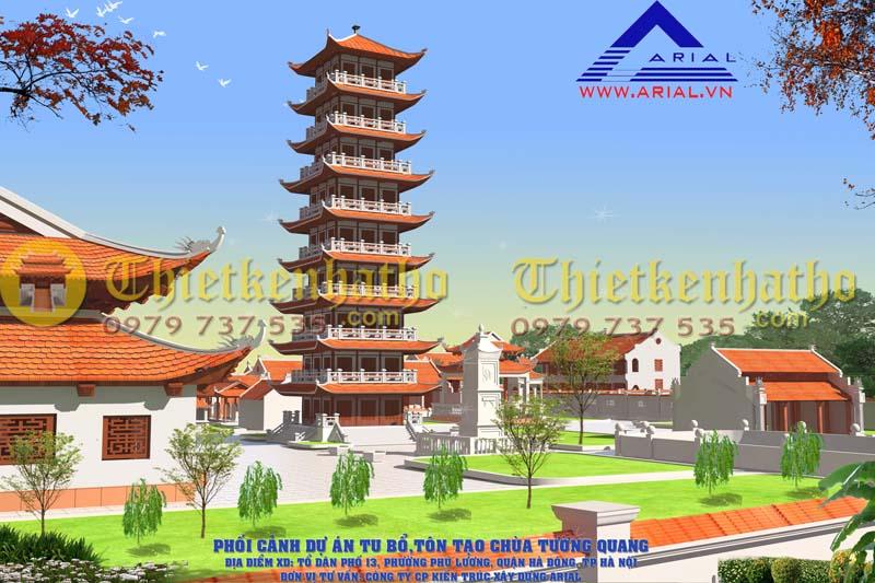 4. Chùa Tường Quang Hà Đông HN