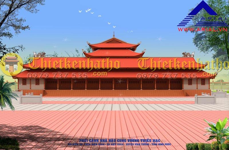 5. Đền thờ Vương Triều Mạc - Vĩnh Phúc