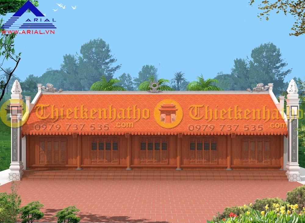 5. Nhà thờ 5 gian ở Vũ Thư - Thái Bình