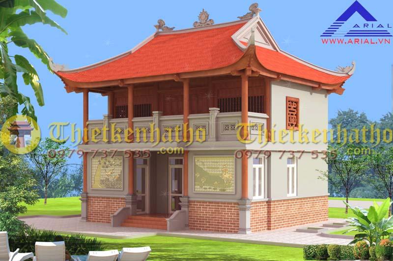 Nhà thờ cđt a Hùng - Nghệ An
