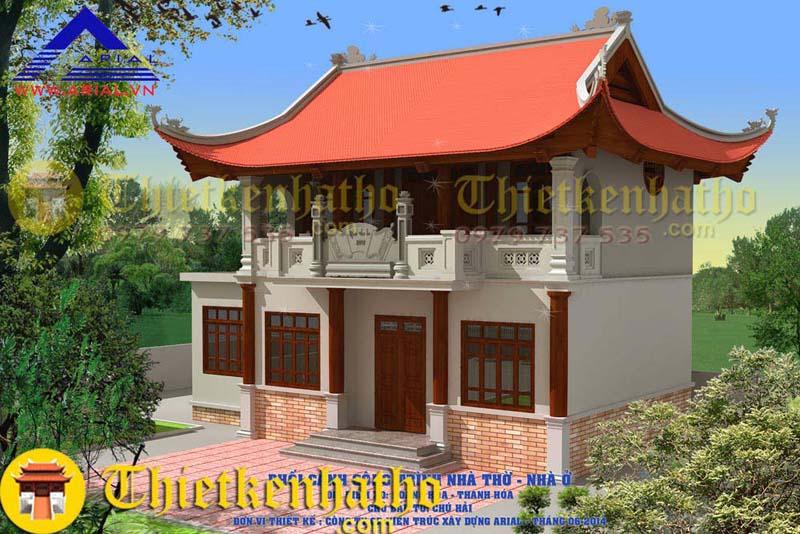 Nhà thờ cđt chú Hải - Thanh Hóa