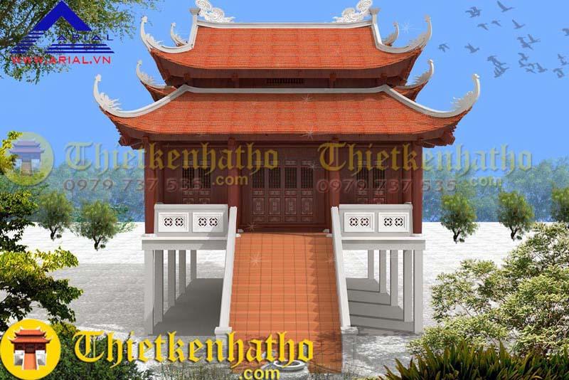 Nhà thờ cđt chú Thanh - Quảng Trị